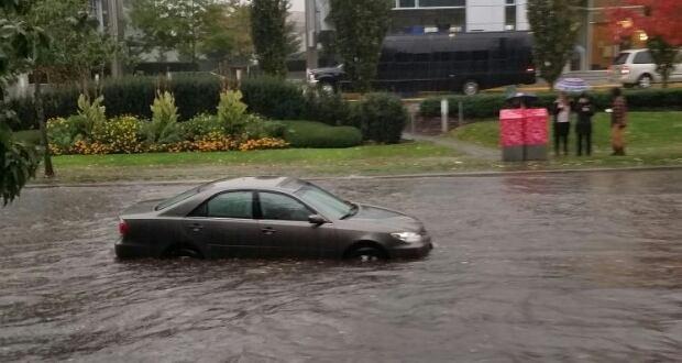 Still Creek Drive flooding