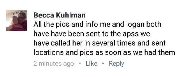 Kuhlman Facebook Post Blurred 1