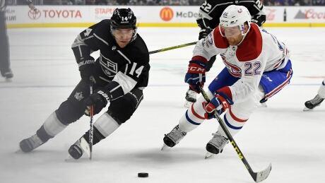 Canadiens Kings Hockey