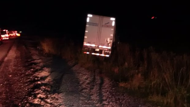 A tractor trailer driver from P.E.I. has been charged with careless driving after losing control of his truck on Highway 401 near Chatham.