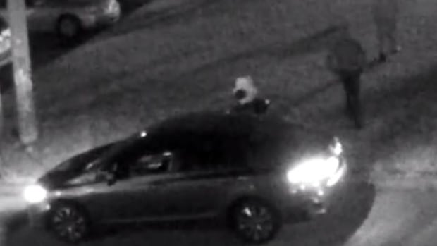 Police are appealing for the public's help to identify their suspects in the shooting of a man outside an apartment building.