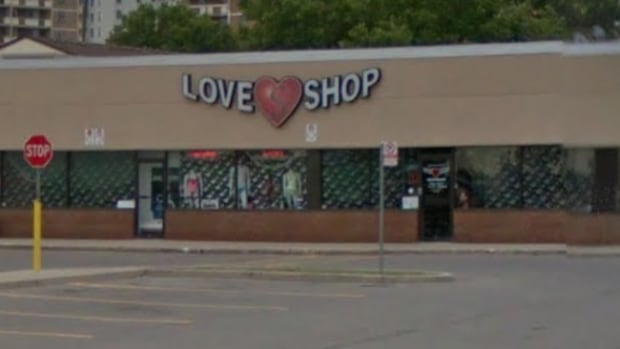 Police say this Love Shop on Centennial was robbed overnight.
