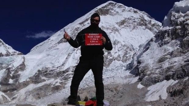 Ian Handrahan has climbed three massive mountains in Nepal throughout October.