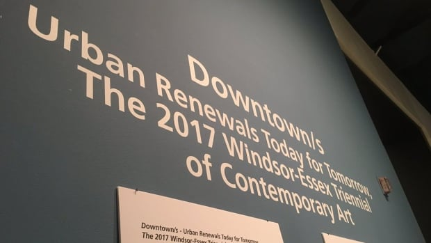 A new exhibit titled Downtown/s - Urban Renewals Today For Tomorrow: The 2017 Windsor-Essex Triennial of Contemporary Art is now on display at the Art Gallery of Windsor.