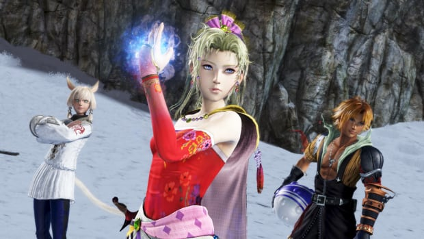 Many of Square-Enix's games lean heavily on nostalgia, including Final Fantasy Dissidia NT, which includes fan-favourite characters from previous instalments in the franchise.