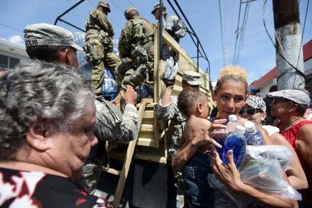 Puerto Rico Hurricane Maria - One Month Later