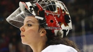 Canadian women's hockey crease not set in stone