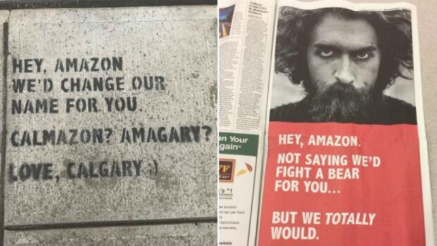 Calgary Amazon ads