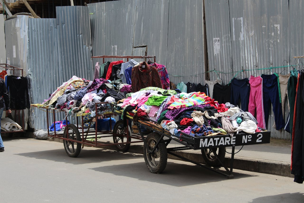 65c9296e3 Charities, resellers feeling the pinch of stiffer tariffs on cheap second-hand  clothing flooding East Africa