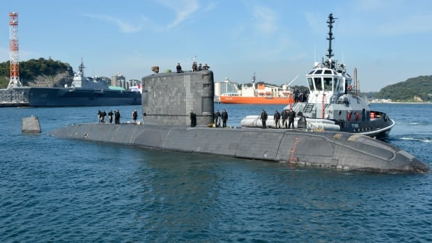 Canada deployed a Victoria-class submarine on patrol to Asia for the first time in early October.