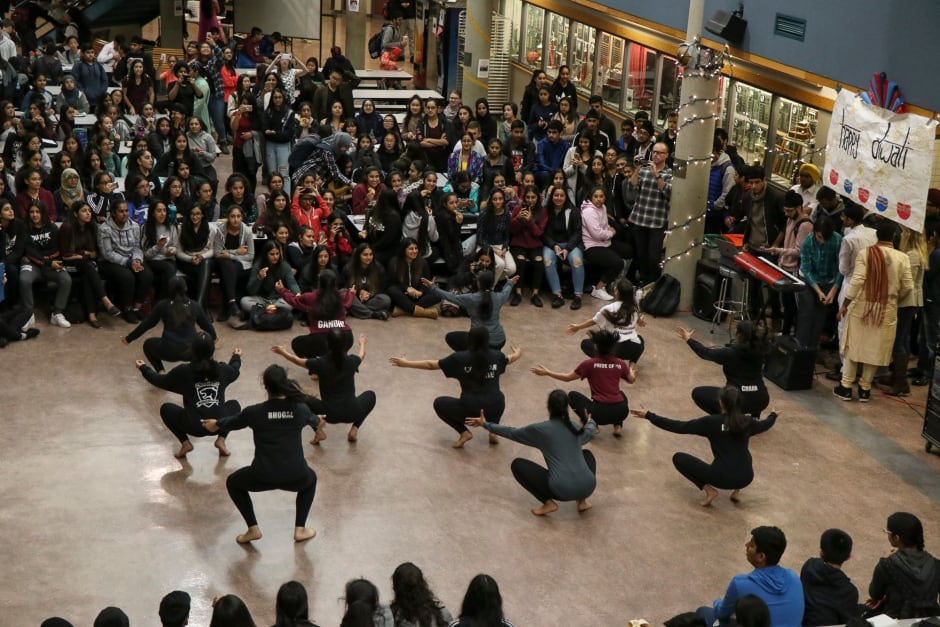 Enver Creek Secondary School Celebrates Diwali