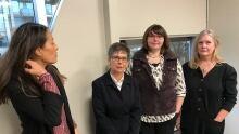 Dr. Jennifer Lee, Veronica Carroll, Cecily Killam, Barb Thompson