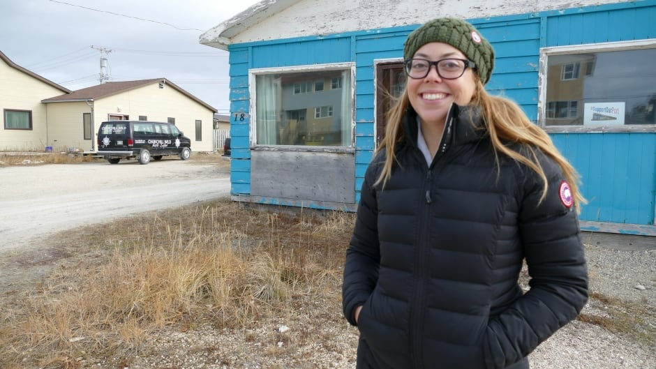 Montrealer Erin Greene is lucky to be alive after being attacked by a polar bear, and she's so grateful to the people of Churchill, Man. that she decided to stay.