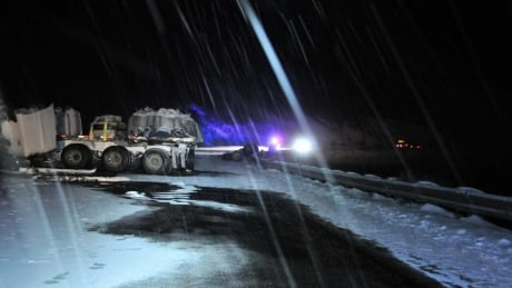 Alaska Highway accident