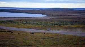 New Arctic coast highway opens up remote Tuktoyaktuk