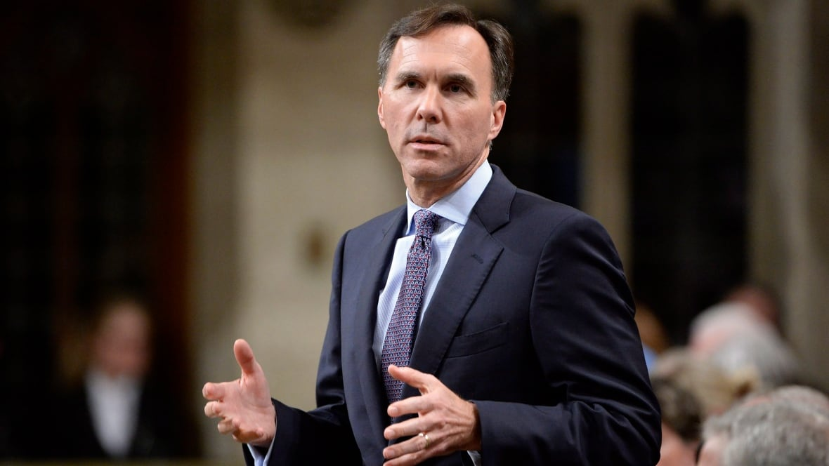 Bill Morneau tries to divest himself of a controversy ...
