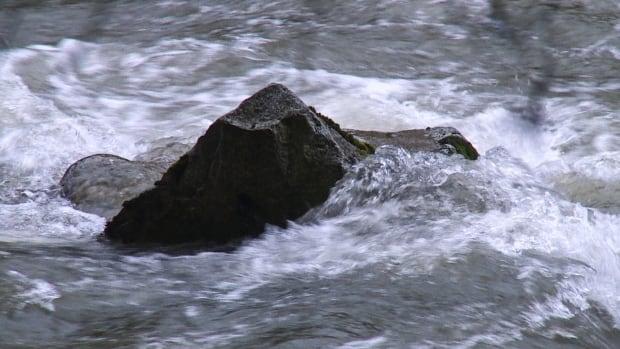 CAPILANO RIVER RUSHING WATER