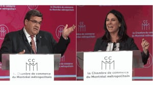 Montreal mayoral candidates square off in French debate