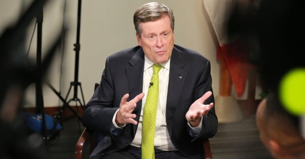 Toronto Mayor John Tory Interview