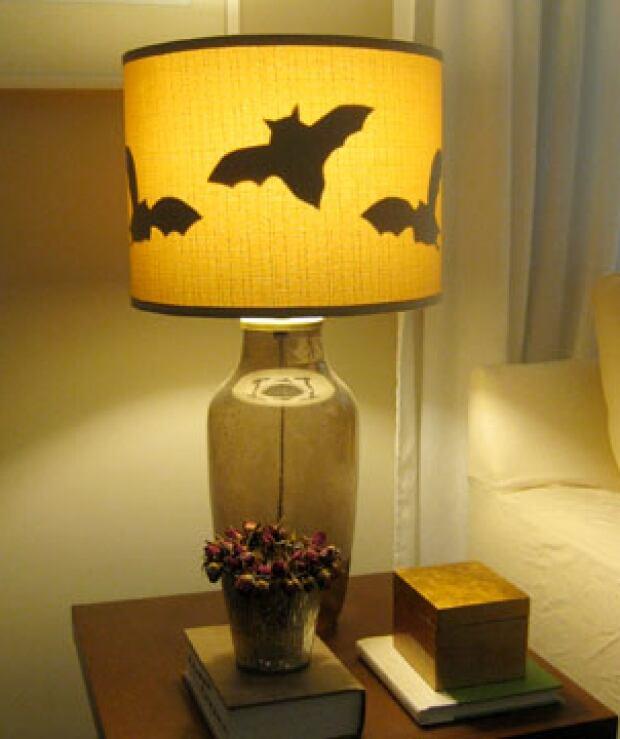 Batty lampshades