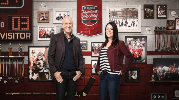 Ron MacLean and Tara Slone will host Rogers Hometown Hockey at Queen's Wharf in Charlottetown.