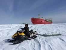 The SmartICE Project integrates traditional knowledge with advanced technology to provide insights into sea-ice thickness and local ice conditions, in near real-time.
