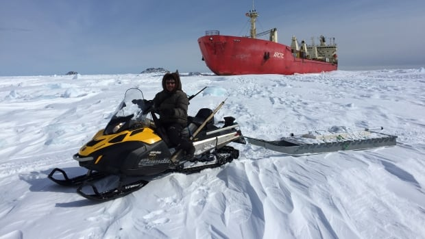 Trevor Bell leads the SmartICE Project, which has been honoured by the United Nations for its research into climate change and its sea-ice monitoring system.
