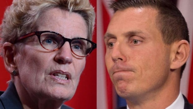 Lawyers for Ontario Premier Kathleen Wynne have issued notice of a libel suit against PC Leader Patrick Brown over comments he made suggesting she was on trial.