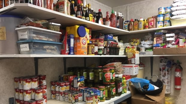 The Soup Kitchen, also a food bank, feeds up to 70 people day, six days a week. It provides close to 100 hampers monthly — and the demand keeps growing.