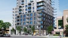 Vivid at the Yates Victoria condominiums