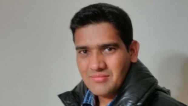 Khushal Rana was rushed to hospital on Wednesday after a black SUV went off the road and hit him on the sidewalk.