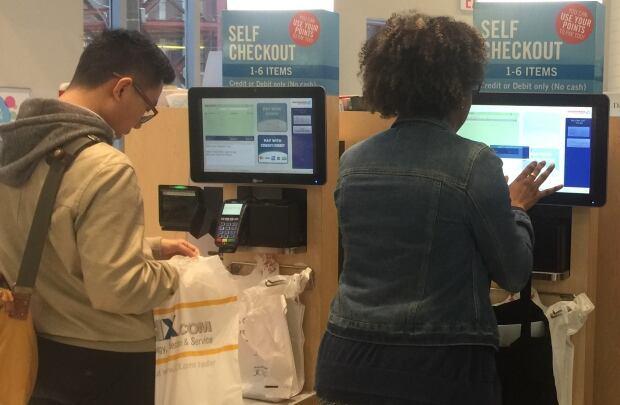 self-checkout shoppers drug mart