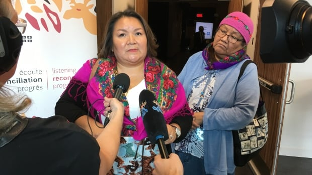Linda L. Shecapio, president of the Cree Women of Eeyou Istchee, told the Quebec Indigenous Inquiry more public service employees need to speak English.