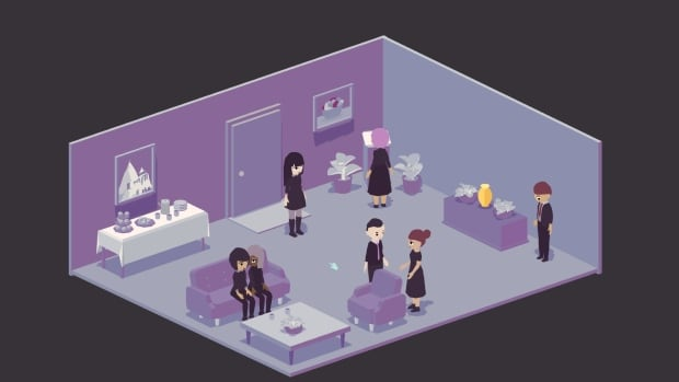 A Mortician's Tale funeral wake