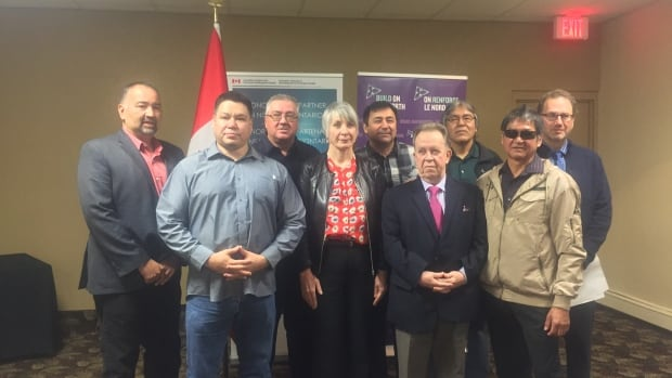 Leaders from Whitesand First Nation along with the federal and provincial governments came together to announce the funding of the new biomass and wood processing facilities Friday in Thunder bay, Ontario.