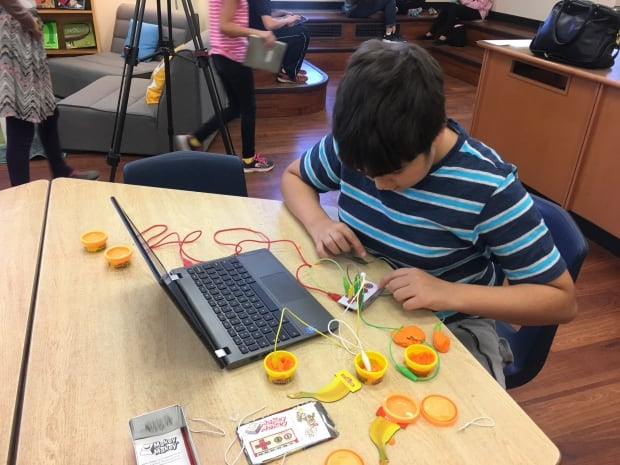 Maker Space encouraging independent learning through technology
