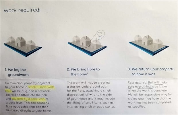bell pamphlet internet cable installation turns into 'nightmare' for residents bell fibe wiring diagram at edmiracle.co