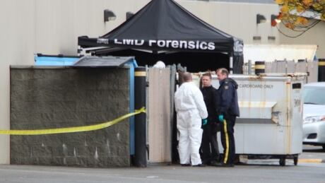LANGLEY BODY FOUND DUMPSTER FIRE