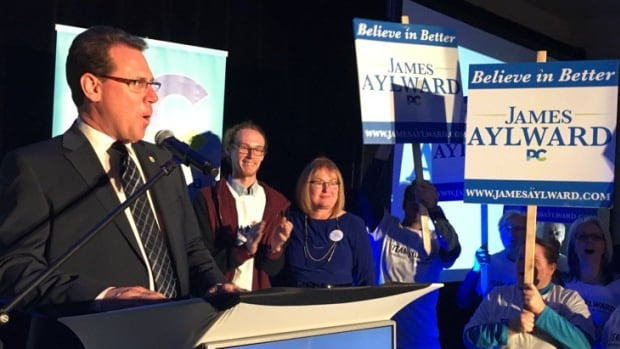'Right now we have a very major task in front of us, we have a byelection coming up in the next few months,' Aylward said.