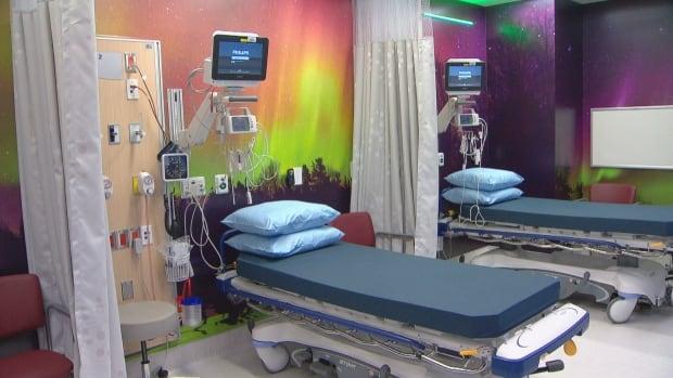 Teck Centre hospital room