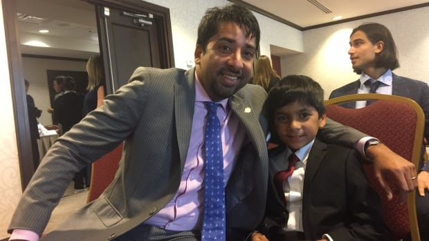 Adam Ahmed, 8, appeared before a House of Commons subcommittee to push for the funding of a federal redress system for those falsely flagged on Canada's controversial no-fly list.