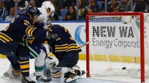 Daniel Sedin's controversial winner helps Canucks outduel Sabres