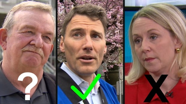 Which Lower Mainland mayors will seek re-election? Left, Burnaby Mayor Derek Corrigan is undecided. Gregor Robertson, centre, says he will run. And right, Maple Ridge Mayor Nicole Read, says she won't run.