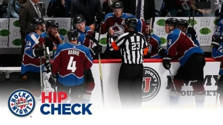 Hip Check: NHL admits mistake in Colorado Avalanche offside goal review