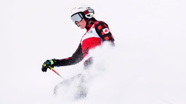 Olympic ski cross champion Marielle Thompson injured her knee this week following a crash during a training run in Sass Fee, Switzerland.