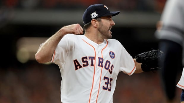 Justin Verlander's seven strong innings helped the Houston Astros to a 7-1 win over the New York Yankees in Game 6 of the ALCS Friday.