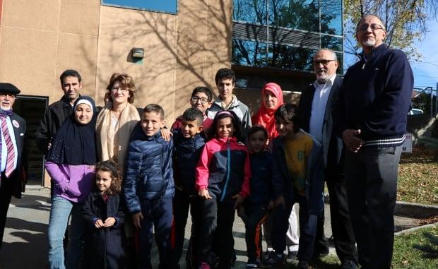Quebec City mosque tree memorial