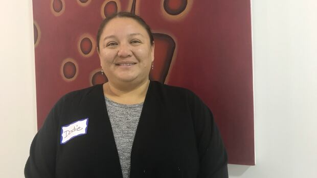 Dodie Ferguson, member of the Cowessess First Nation and its Land and Resources Committee, spoke about how residents can conserve at home during the Reconciliation in the Watershed event on Saturday morning.