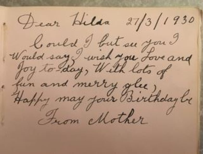 mystery owner of child s autograph book from 1930s discovered cbc news