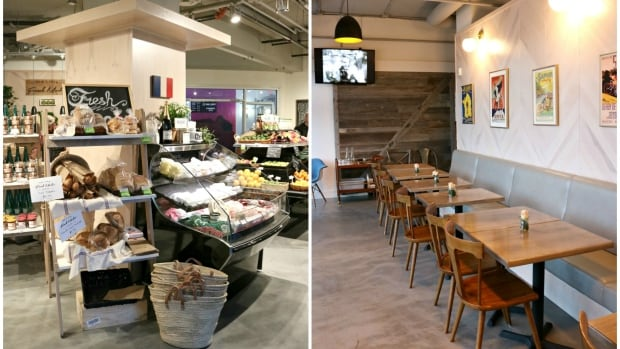 The space that was Market 17 has been transformed into The Little French Market, bringing in specialty products from France such as fresh pastries, cheeses and takeaway meals prepared at Cassis Bistro.